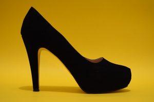 cheap black high heels